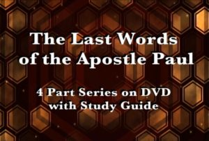 The Last Words of the Apostle Paul DVD